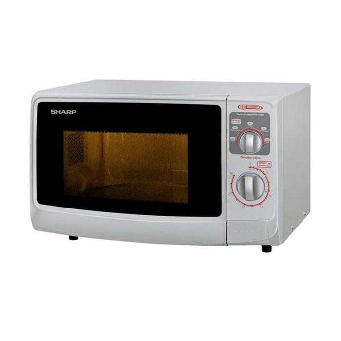Sharp R-222Y(W) Microwave Oven - Putih Low Watt - G1lyos