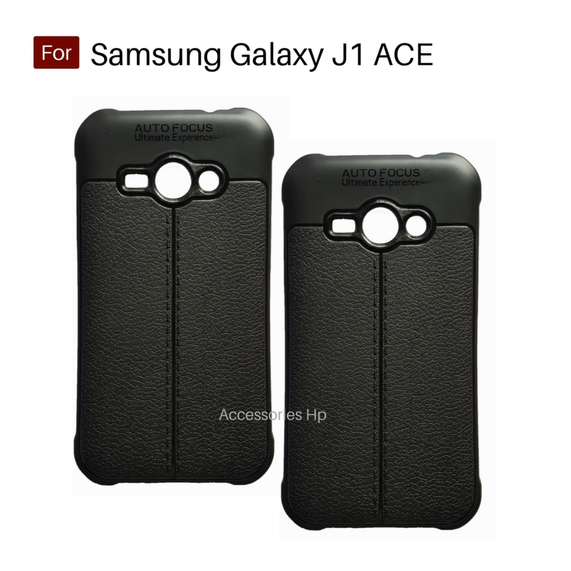 Accessories Hp Premium Ultimate Shockproof Leather Case For Samsung Galaxy J1 Ace - Black