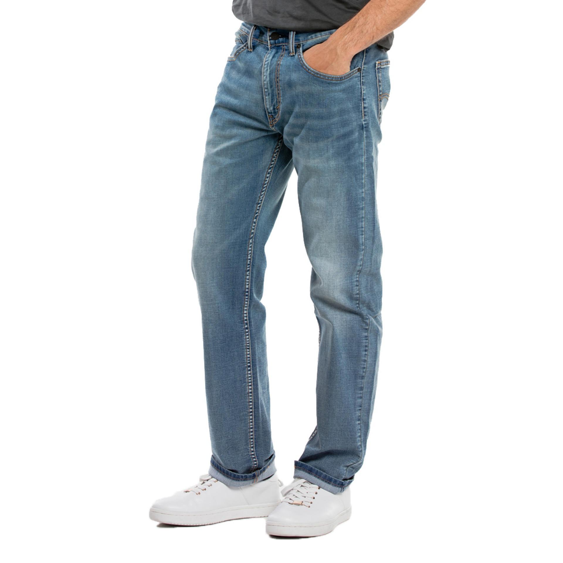 Levis Performance Cool 505 Regular Fit Jeans - Vanilla Cool Blue RAYA LVSBDAY