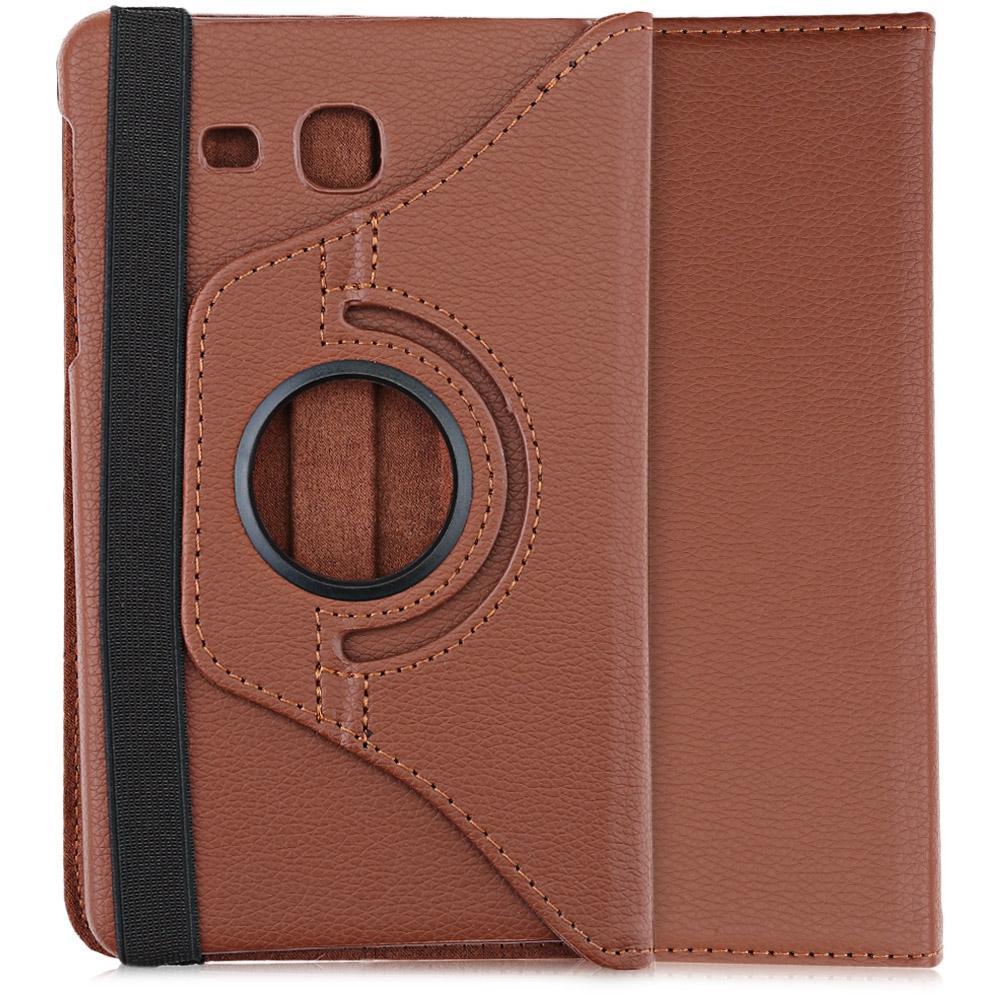 Lichee Pola 360 Degree Rotating Cover dengan Auto Tidur Bangun Fungsi untuk Samsung Galaxy Tab A 7.0 T280/ T285-Intl
