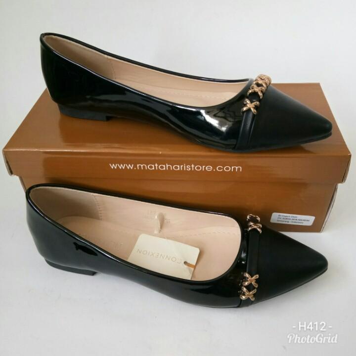 Sepatu Flat Connexion LE7HT704 sepatu loafers sepatu wanita sepatu slipon sepatu branded sepatu