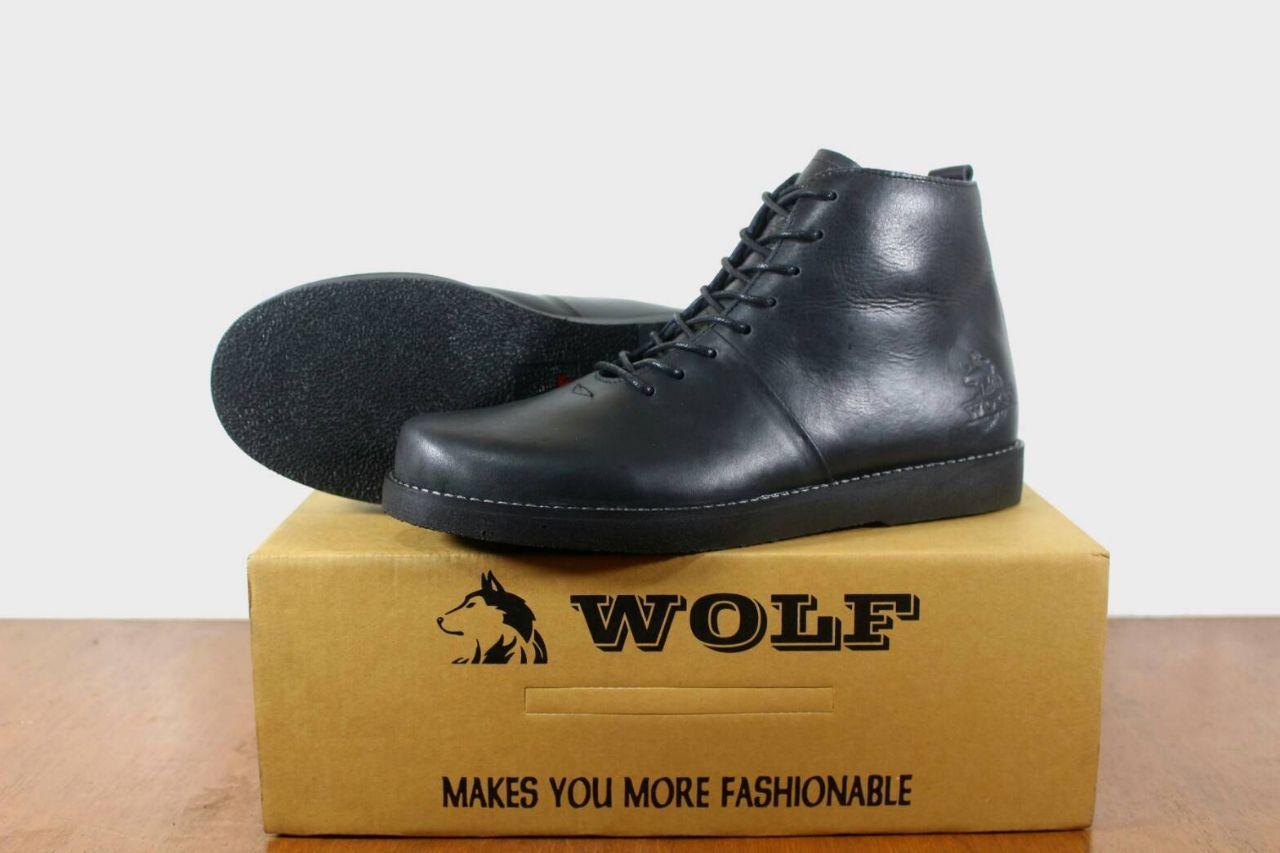 Sepatu Boots Kulit Pria Wolf Brodo Malamut Original Hight Quality