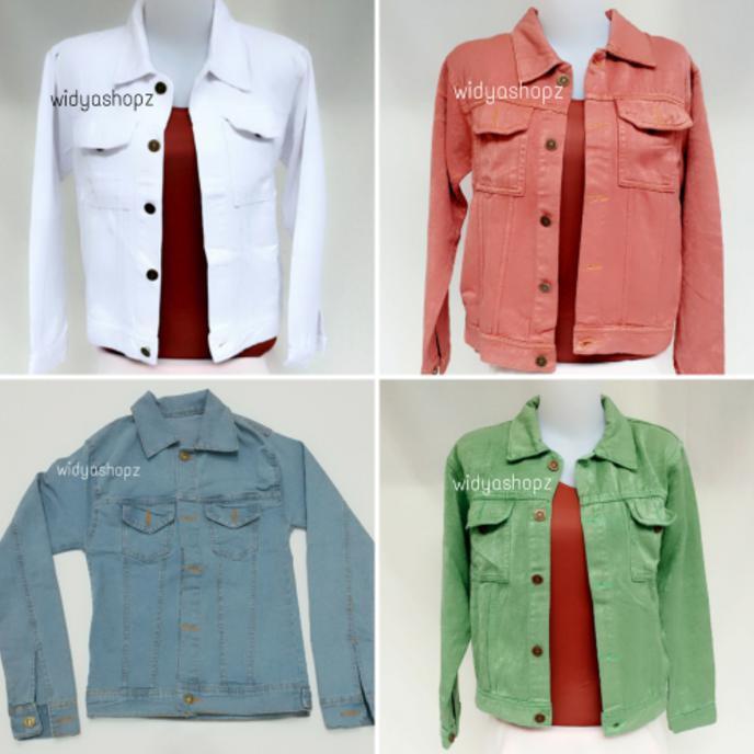 Promo Jaket Jeans- Levis- Atasan- Wanita- Cewek- Murah