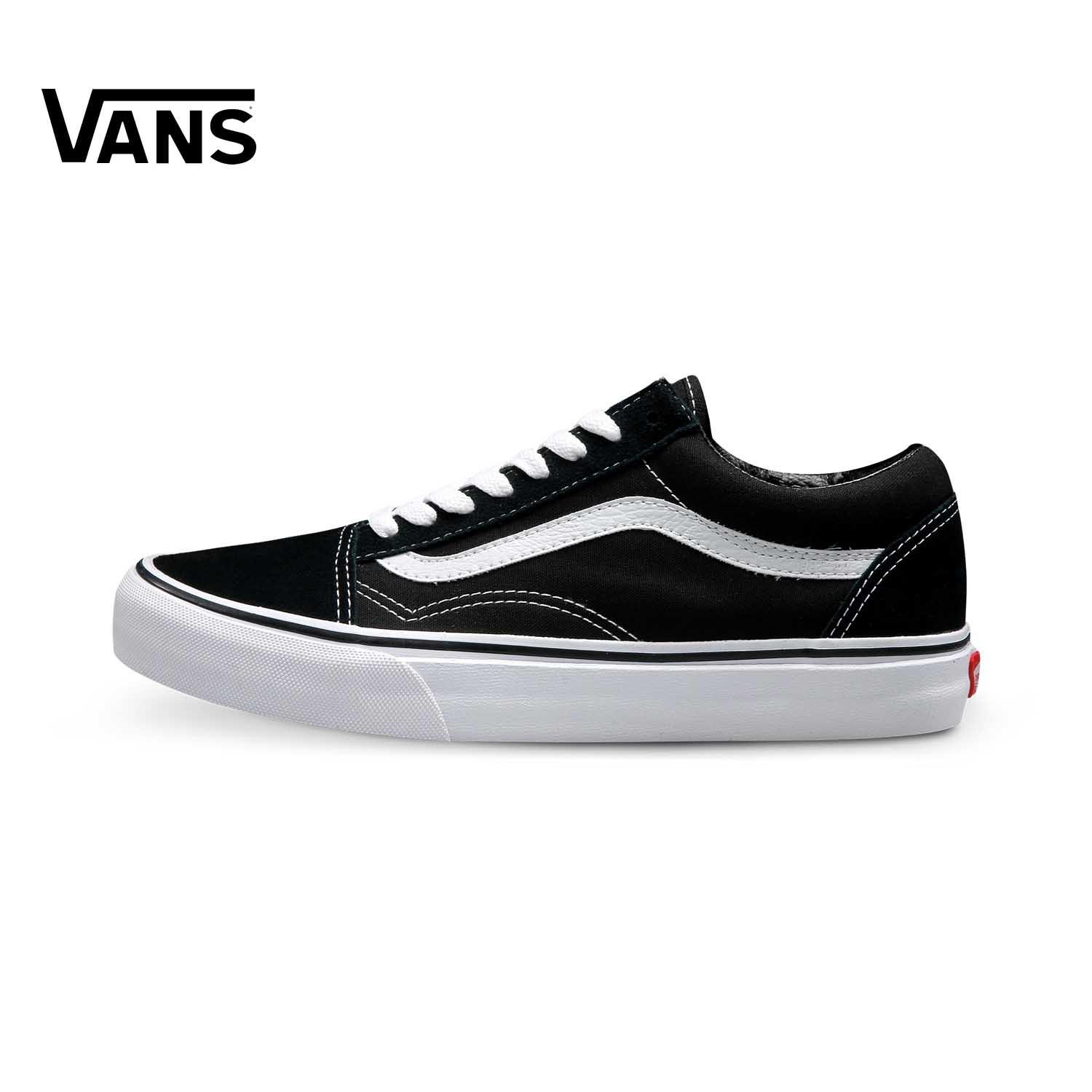 Product Vans Men s Shoes Old Skool Classic Style Low Top Skateboard Shoes  VN-0D3HY28 BLACK WHITE 5e30cbf36c