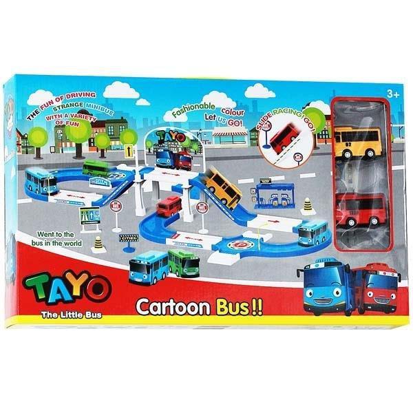 Mainan Anak Mobil Parking Tayo ZY002 LOT