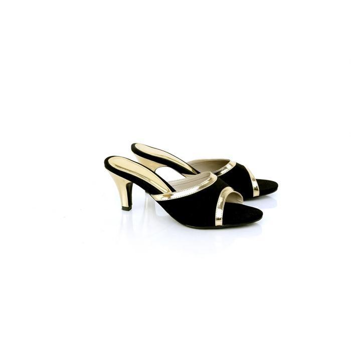 Sandal Wanita/Sandal High Hells Gareu REF 5146 Hitam