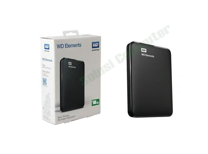 Harddisk External WD Elements Basic Storage 500GB