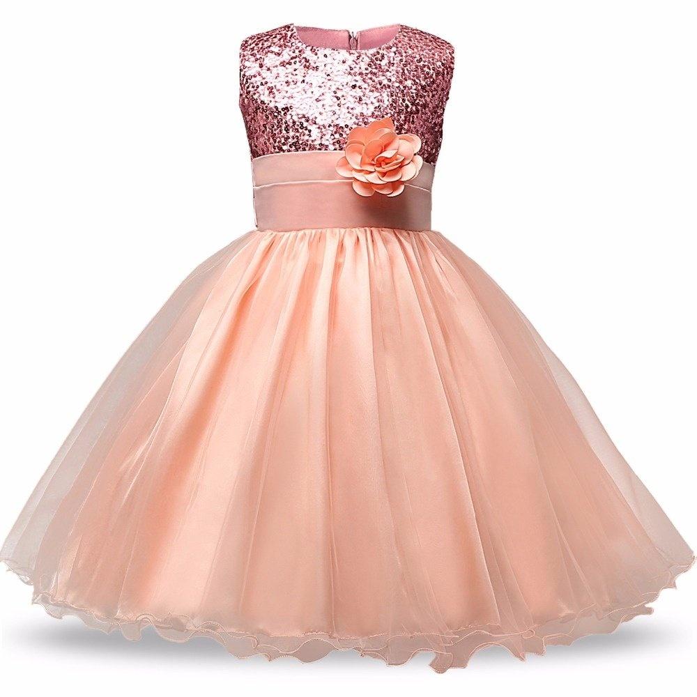 Jual Sequin Pernikahan Kostum Putri Gadis Gaun Untuk Pakaian Formal F 1