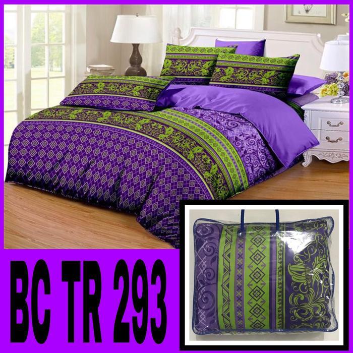 Bed Cover Set (Bedcover + Sprei) Murah Motif Terbaru