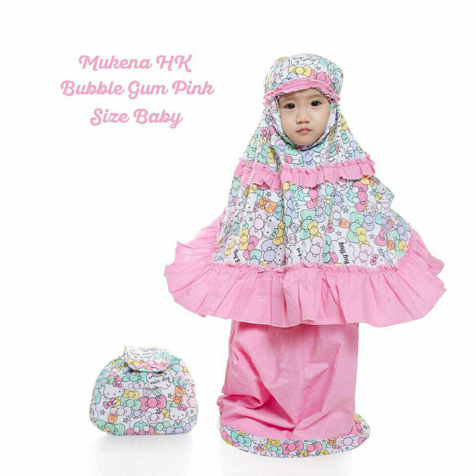 Mukena Katun Farah Couple Ibu Anak Set Cantiq Pink Daftar Harga Source · Mukena Baby Katun
