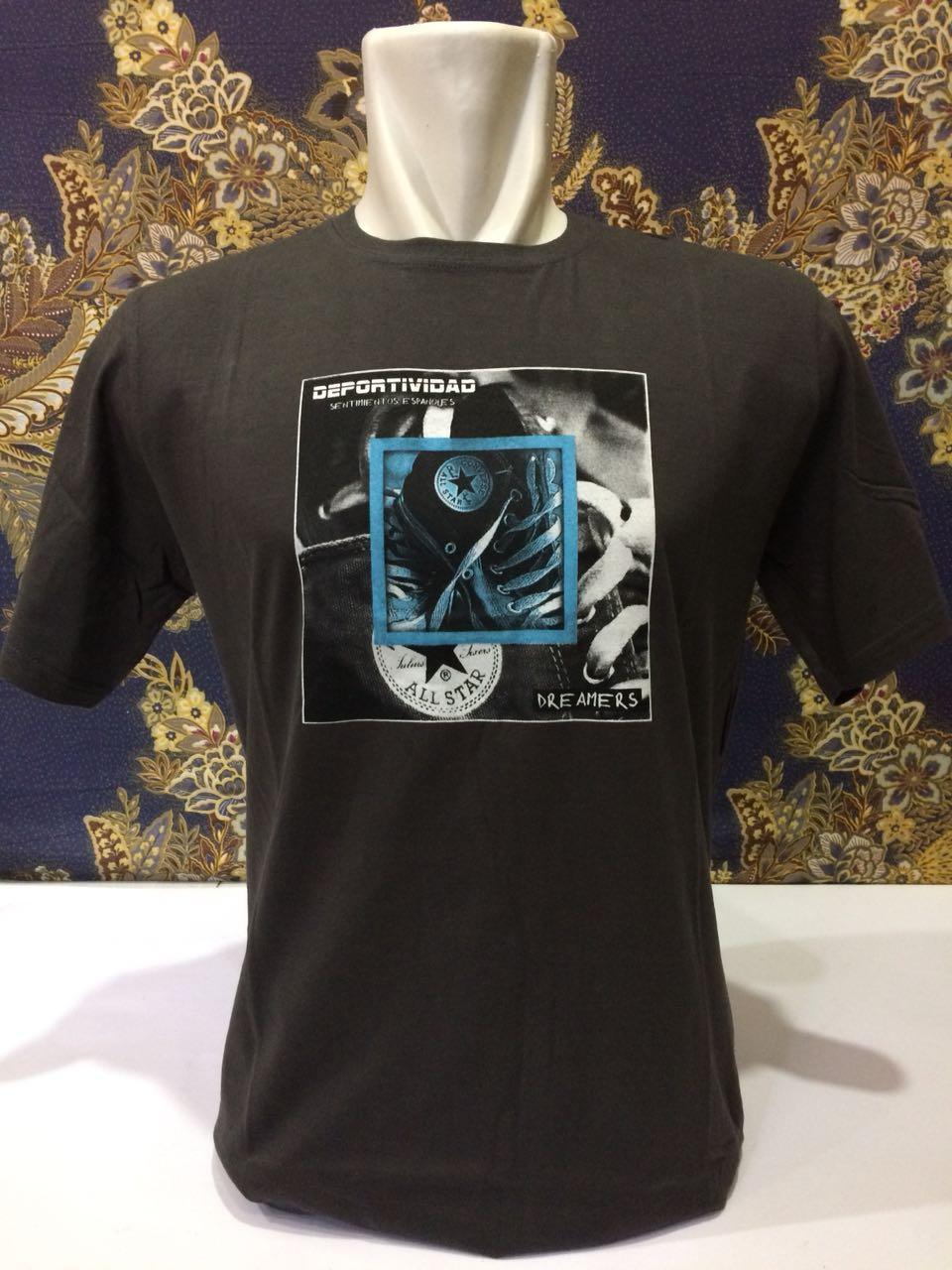 FYA Shope - Kaos T-Shirt Kaos Distro Premium 100% Combed Cotton / Converse