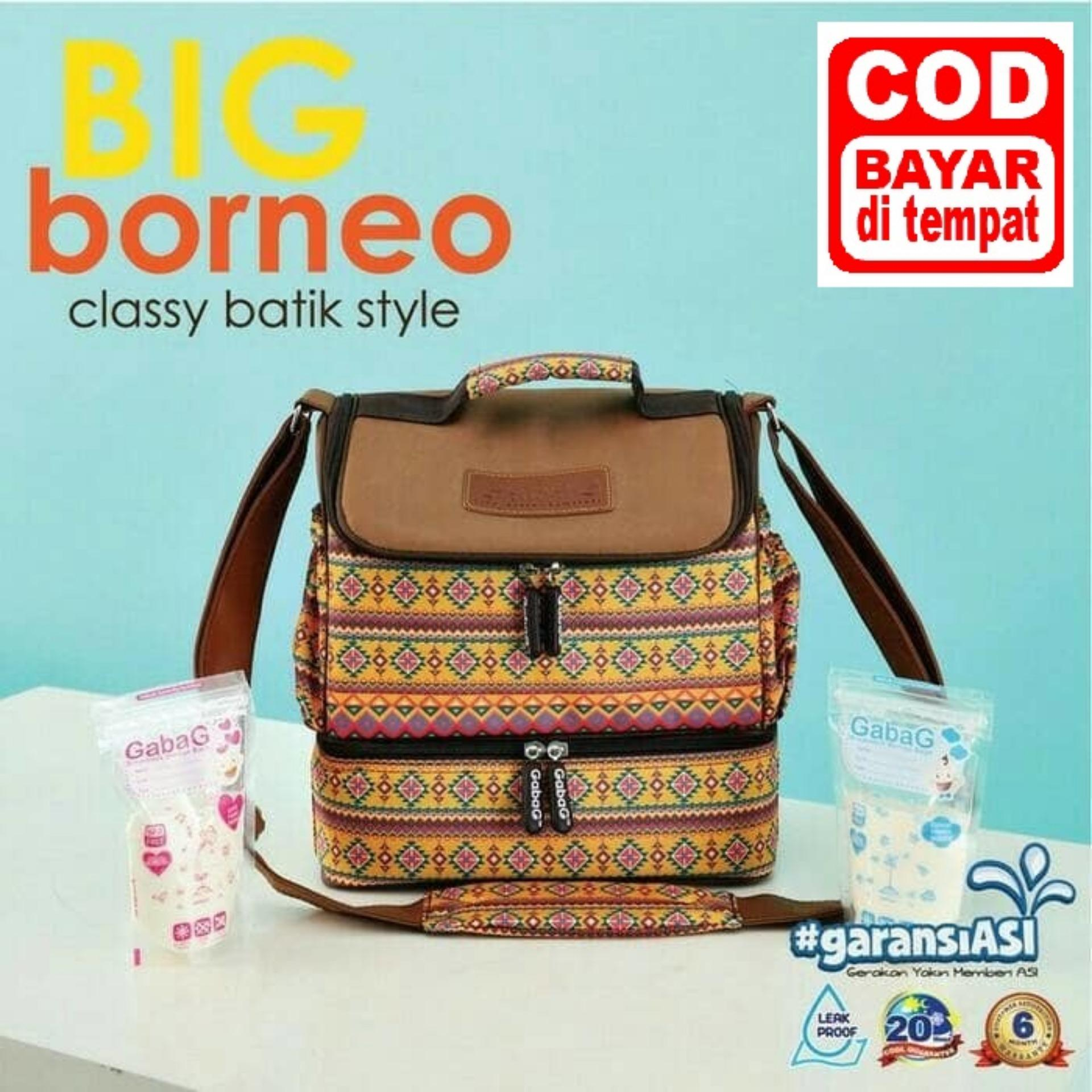 Gabag Tas Cooler Bag - Ethnic Borneo