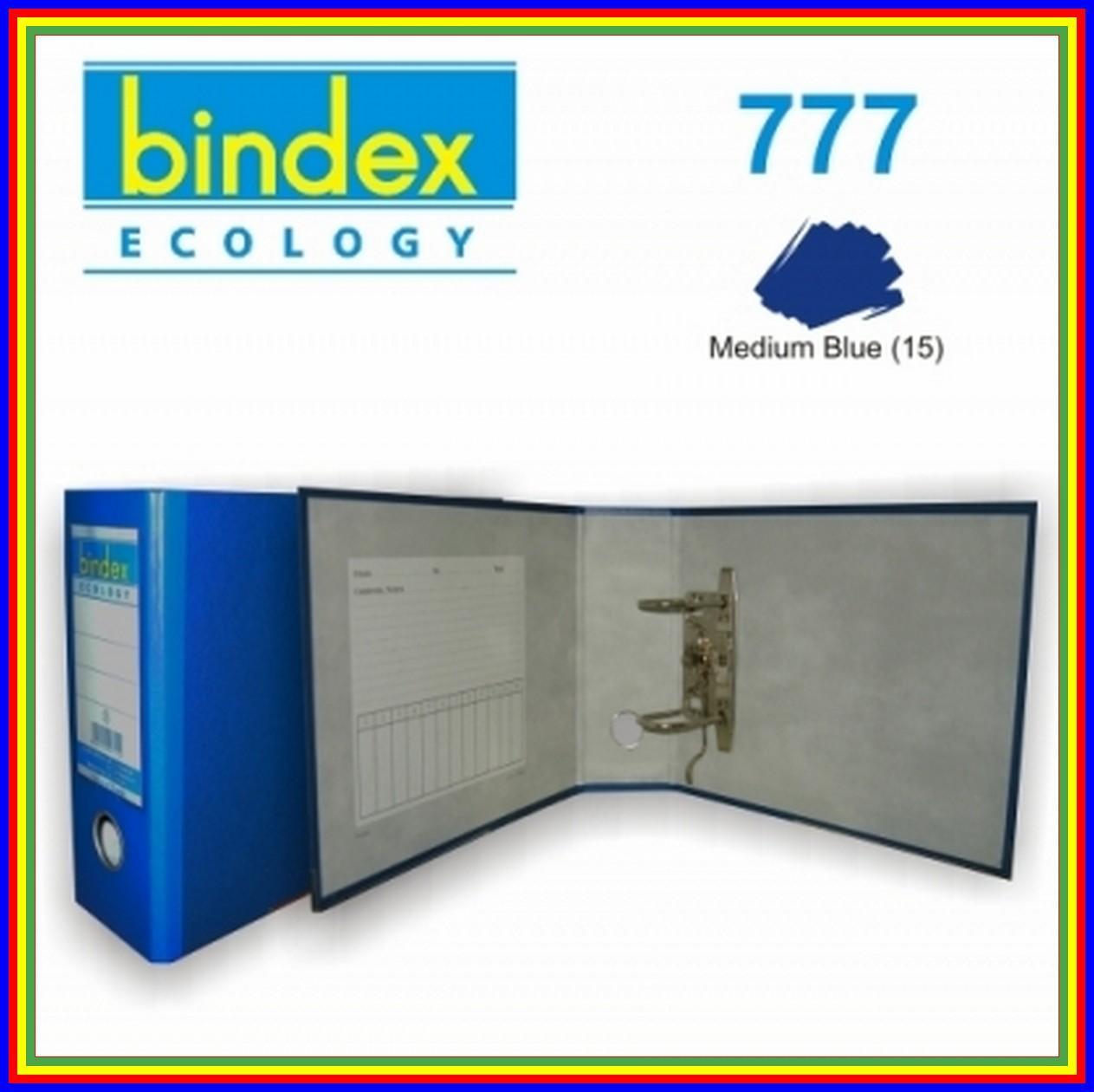 Ordner Bindex 777 Kwitansi 75 Mm Biru