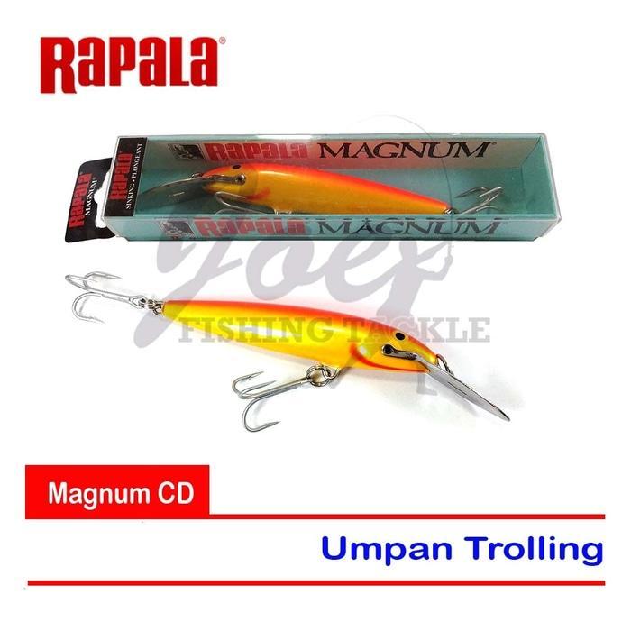Rapala Magnum CD 11 MAG Umpan Trolling - Gold Fi Red - Orange Mas - NL3WXy