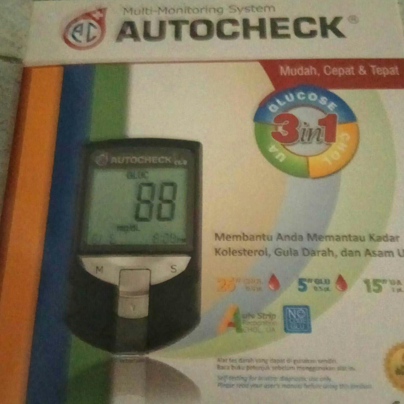 Auto check 3 in 1 meter