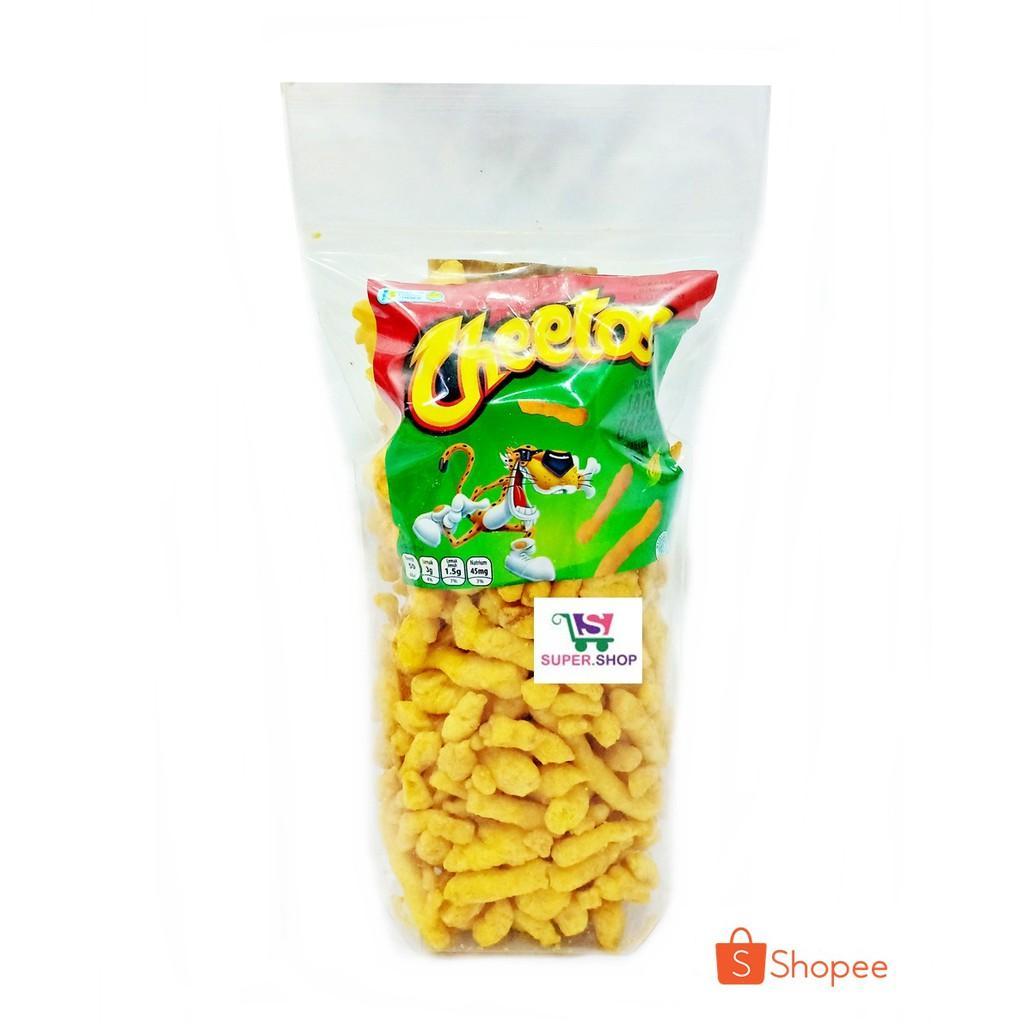 Chiki Cheetos Jagung Bakar 250 Gram Snack Cemilan Kiloan Zip Lock