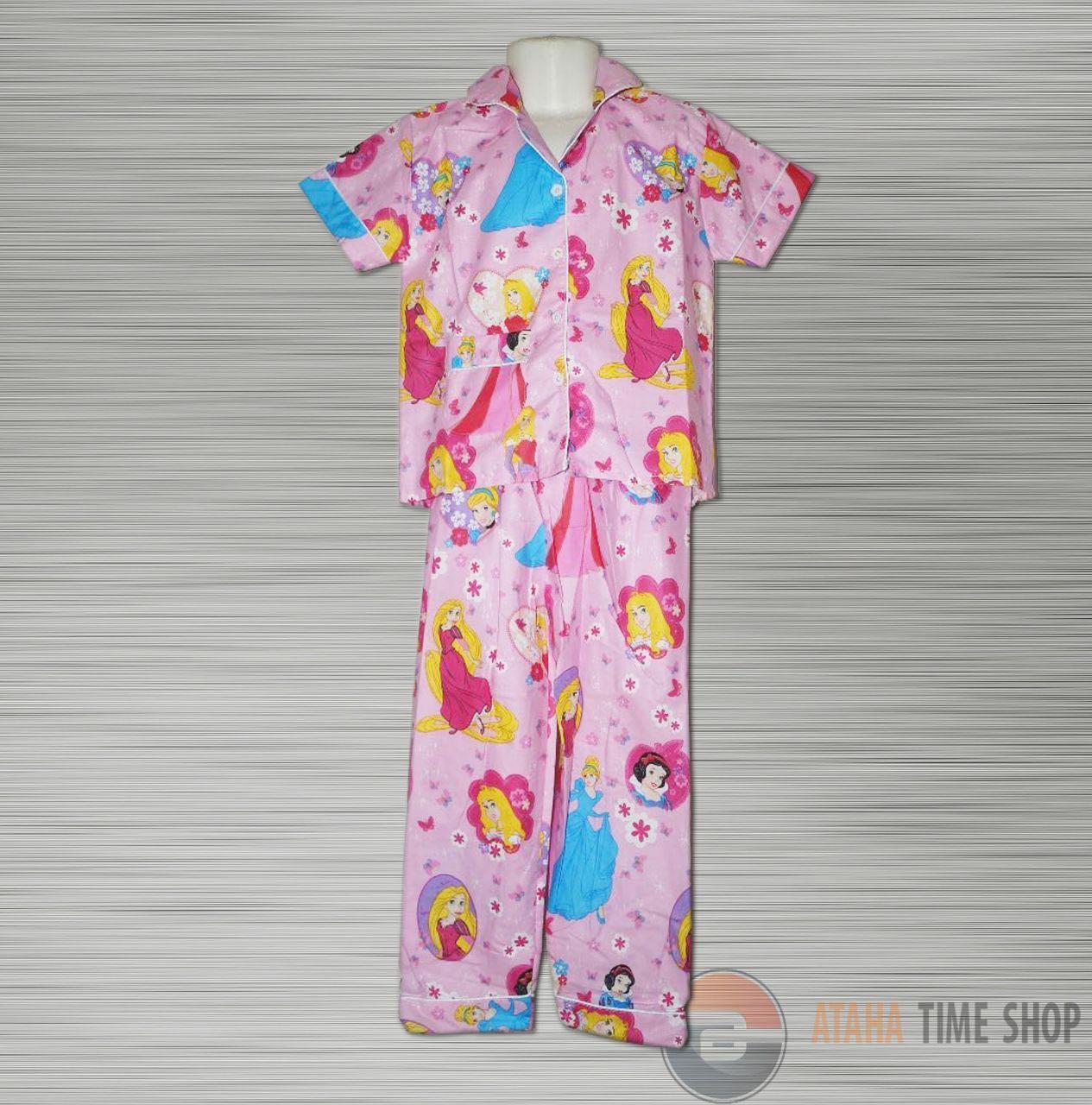 Piyama Anak Baju Tidur Anak Baju Santai Anak Motif Frozen -  Untuk Anak  4-7 Tahun