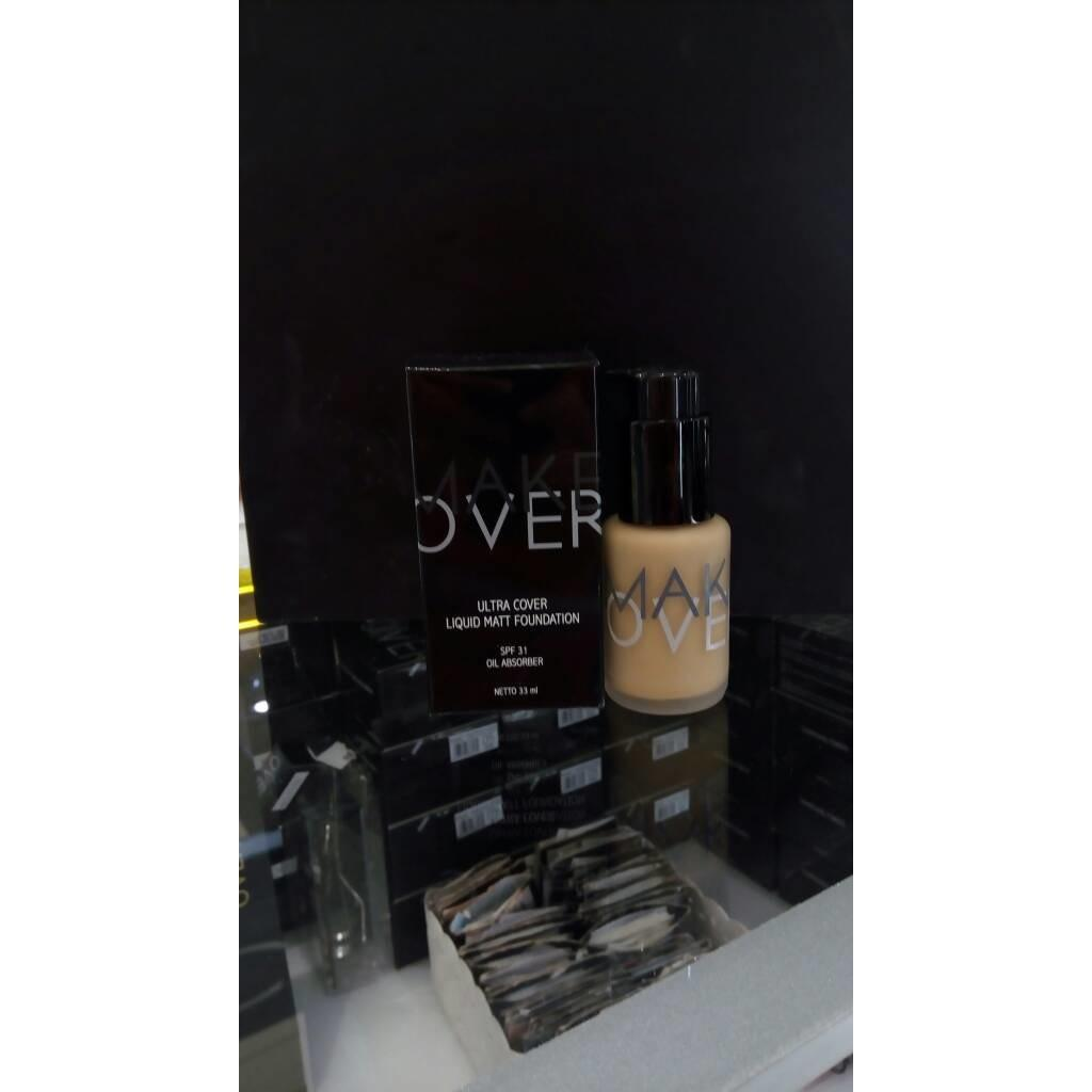 Make Over Ultra Cover Liquid Matt Foundation 01 Ochre Daftar Harga Matte 4 Amber Rose 400198 Makeover Spf 31 33ml
