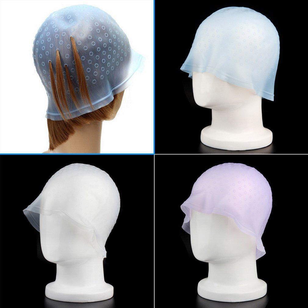 Profesional Dapat Digunakan Kembali Rambut Colouring Highlighting Dye Tutup Frosting Tipping