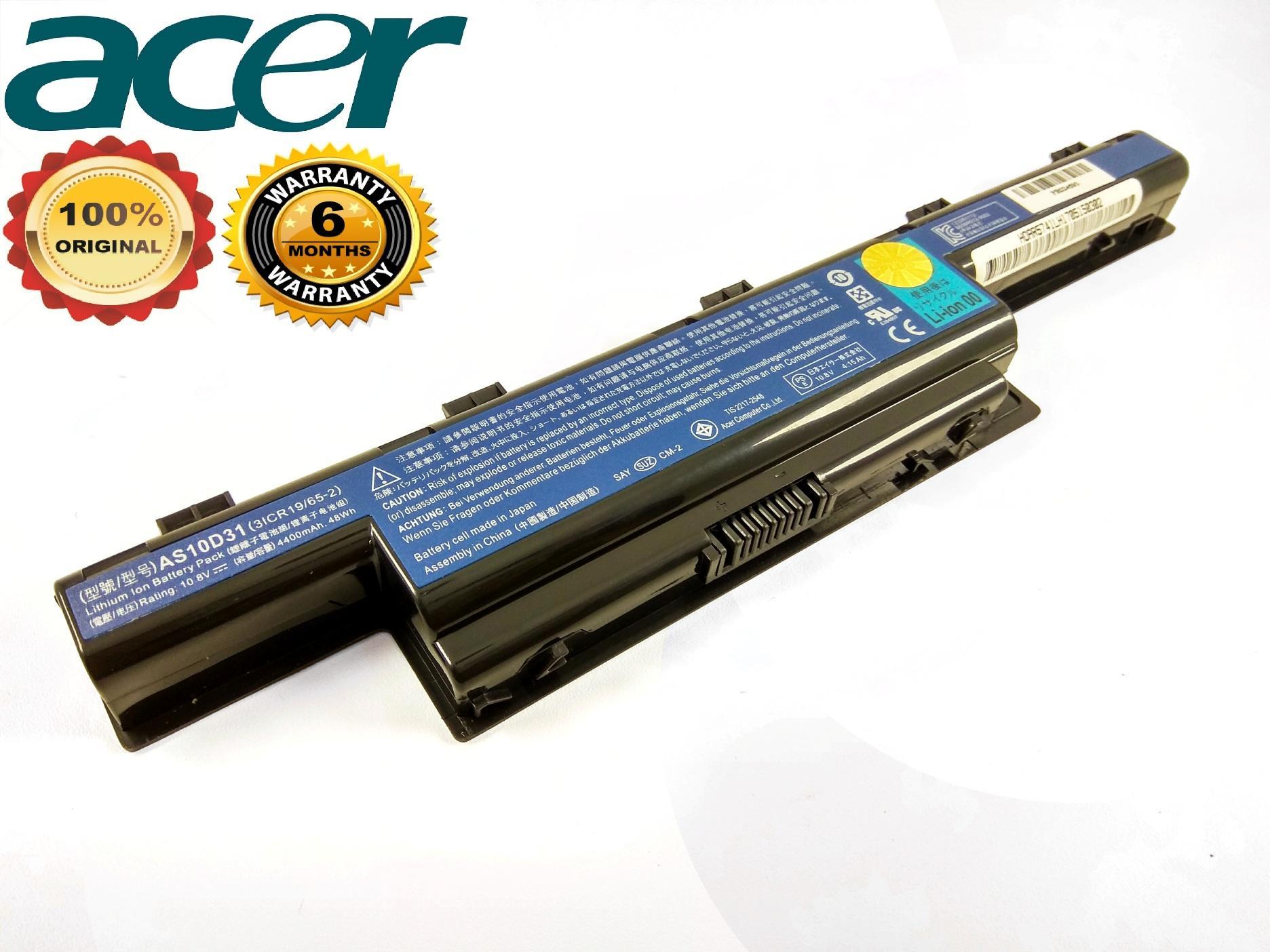 ACER Baterai ORI Laptop 4738 4741 4551G 4738Z 5740G 5741G E-1431 E1-471 ORI