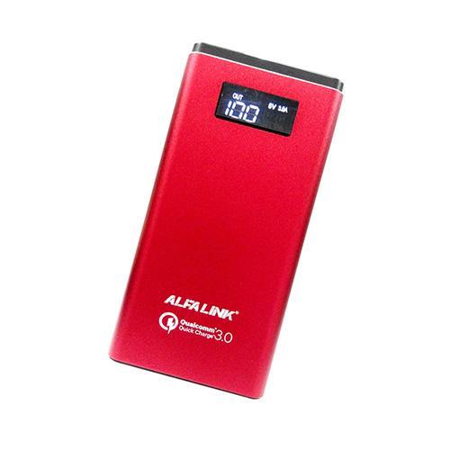 ALFA LINK Power Bank Ap 10000QC BlackIDR429001. Rp 429.001