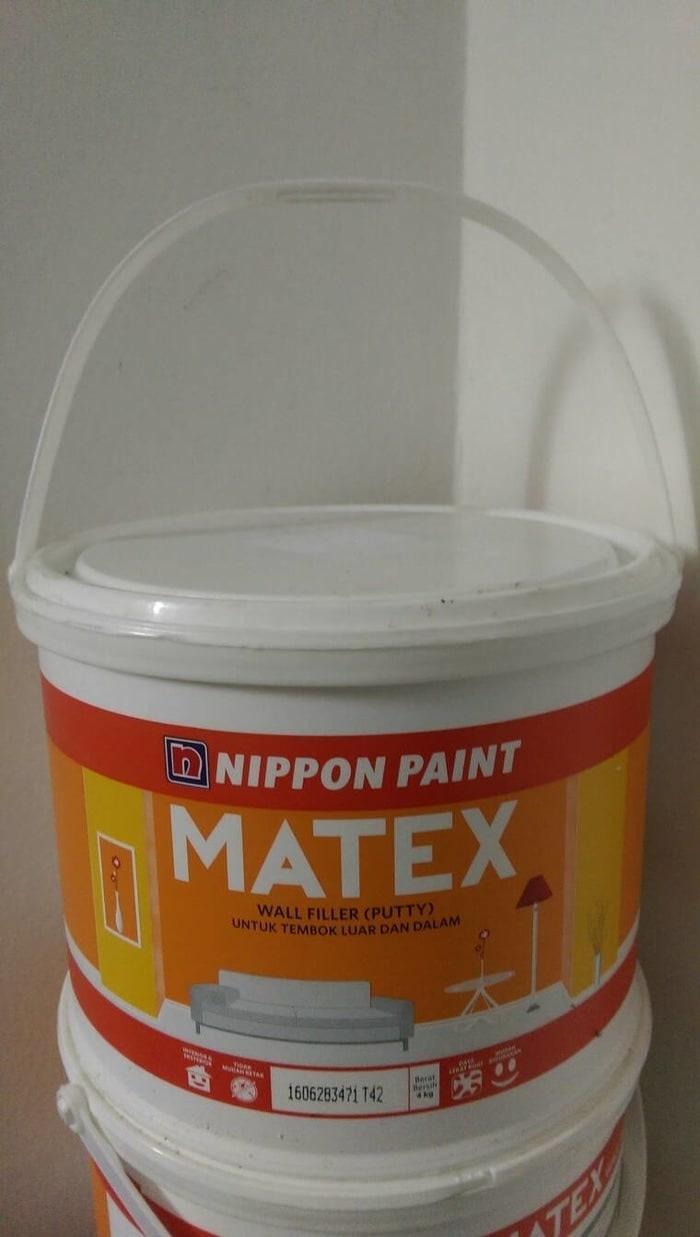 DEMPUL / PLAMIR TEMBOK MATEX 4 KG / WALL FILLER / PUTTY PLAMUR