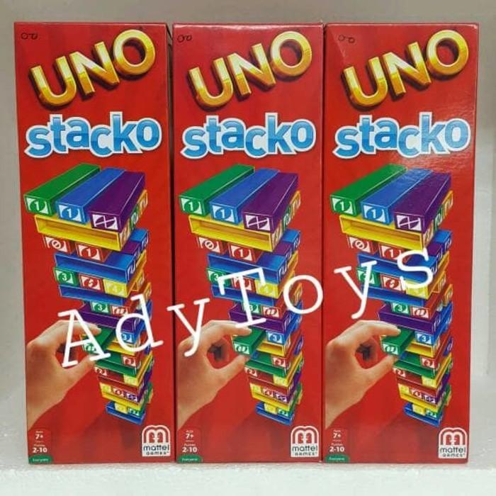 Mainan Balok Susun Uno Stacko / Mainan Edukatif / Family GameIDR85000. Rp 85.000