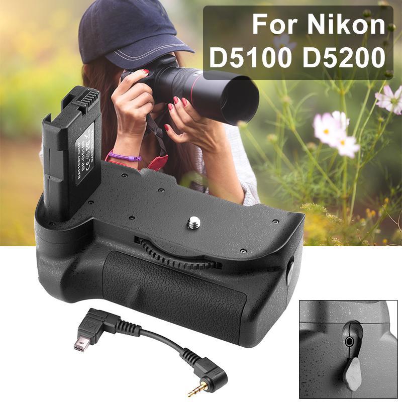 Vertical Battery Grip for Nikon D5100 D5200 Camera LF219 [Camera]