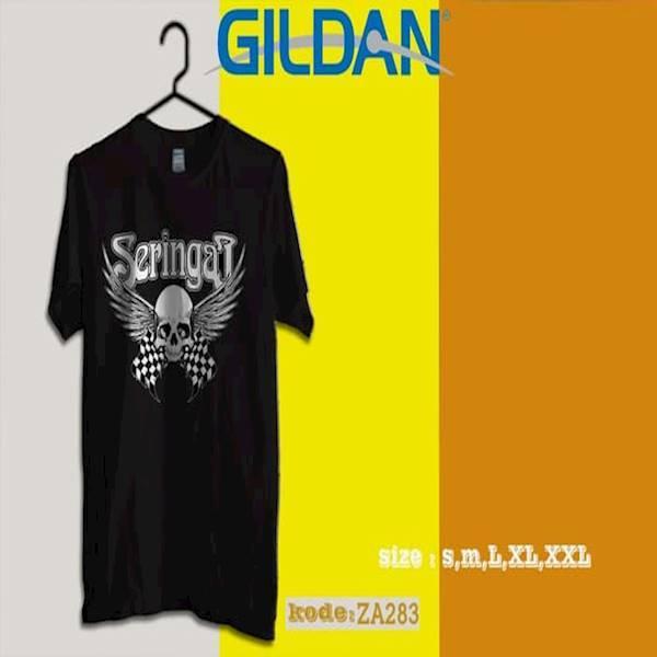 Kaos SERINGAI Band Tag Original Gildan Softstyle