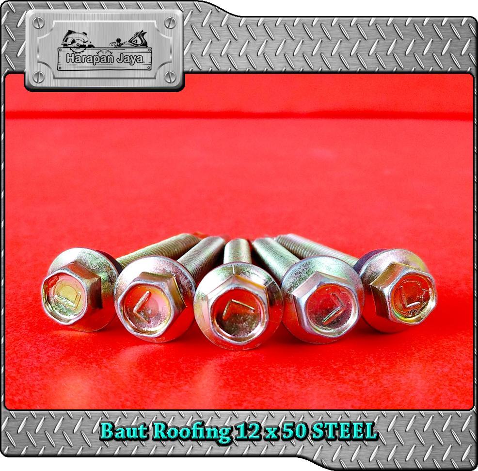 Features Roofing Screw Ruping 1265 Baut Baja Ringan Dan Harga Nankai Kunci Hex Nut 1 4 X 65mm 12 50 10pcs Sekrup Atap Drilling