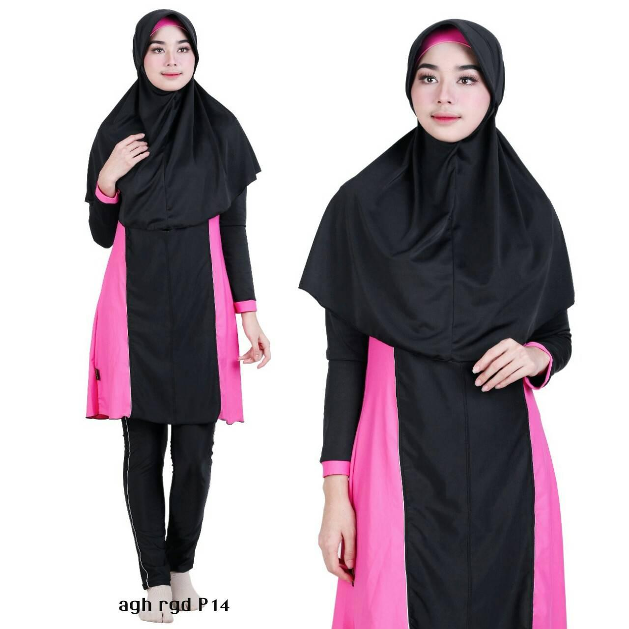 ... Baju Renang Muslimah Premium by Aghnisan Collection Size S - XL - 3 ...