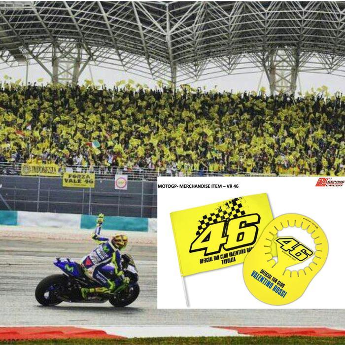 Tiket VR46 Tribune MotoGP Sepang 2017 Tribun Valentino Rossi EarlyBird - NzI42y