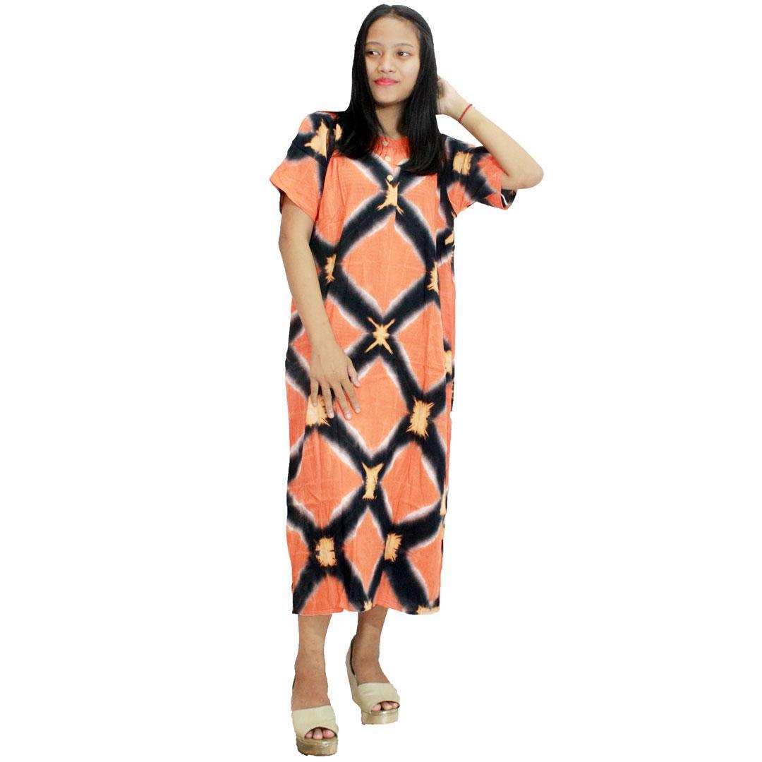 Harga Promo Baju Tidur Lengan Pendek Termurah Daster Menyusui Busui Bumil Jumbo Batik Piyama Kancing