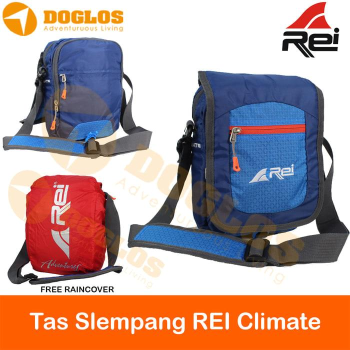 Tas Selempang Rei Climate Gunung Outdoor Hiking Travel Pouch