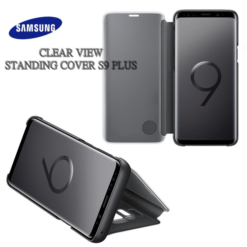 Samsung Clear View Standing Cover Galaxy S9+ Plus - Black