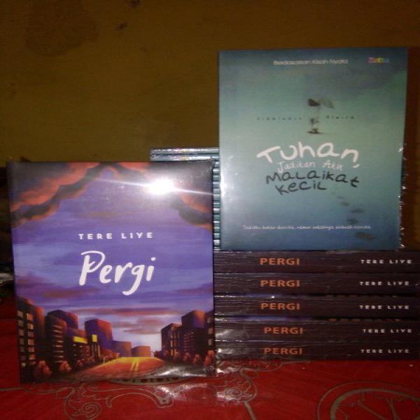 Novel PERGI BY TERE LIYE BONUS NOVEL TUHAN JADIKAN AKU MALAIKAT KECIL