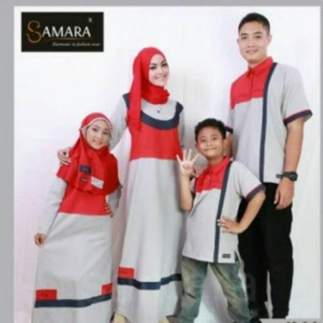 Couple baju seragam muslim sarimbit gamis koko keluarga ayah anak dan ibu branded termurah terbaru gamis xxl