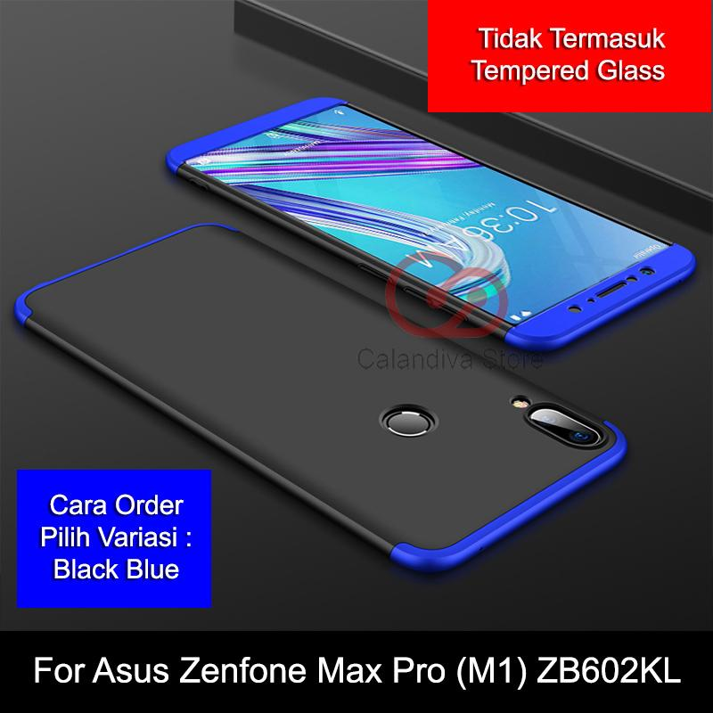 Calandiva Premium Front Back 360 Degree Full Protection Case for Asus Zenfone Max Pro ( M1 ) ZB602KL 5.99 Inch