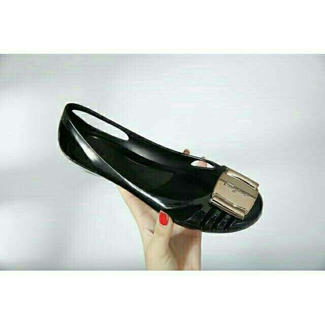Jelly Shoes New Matte Flat Jelly Shoes Salvatore Ferragamo