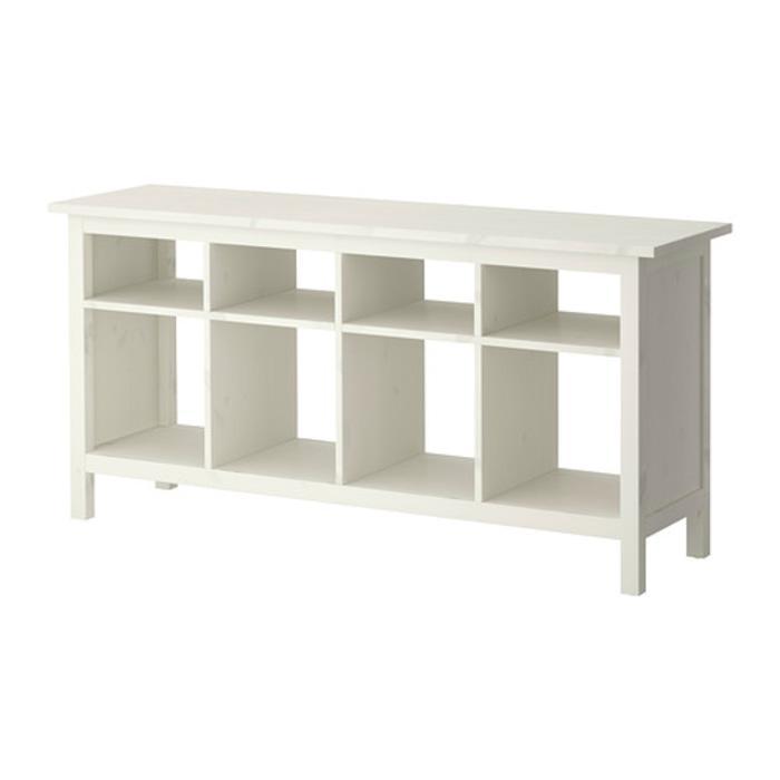 IKEA HEMNES Meja konsol 157x40 cm, putih