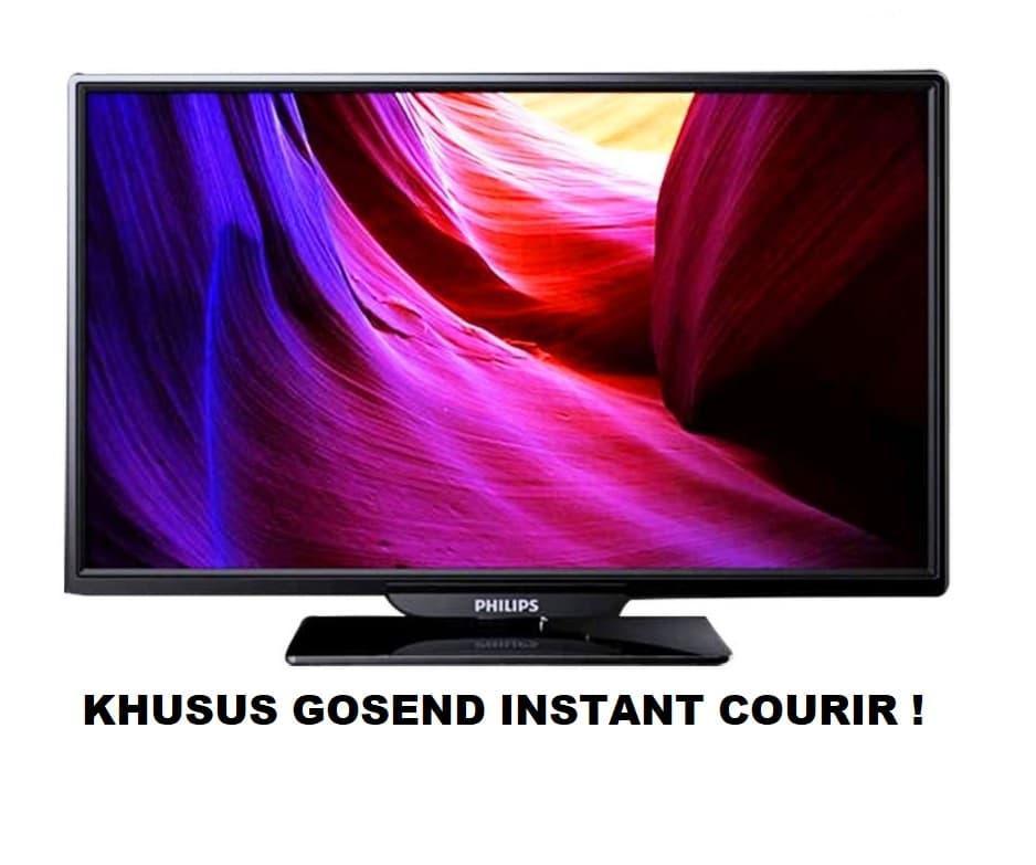 PHILIPS LED TV 32 Inch - 32PHA4100 Garansi Resmi 32 PHA4100 Hitam