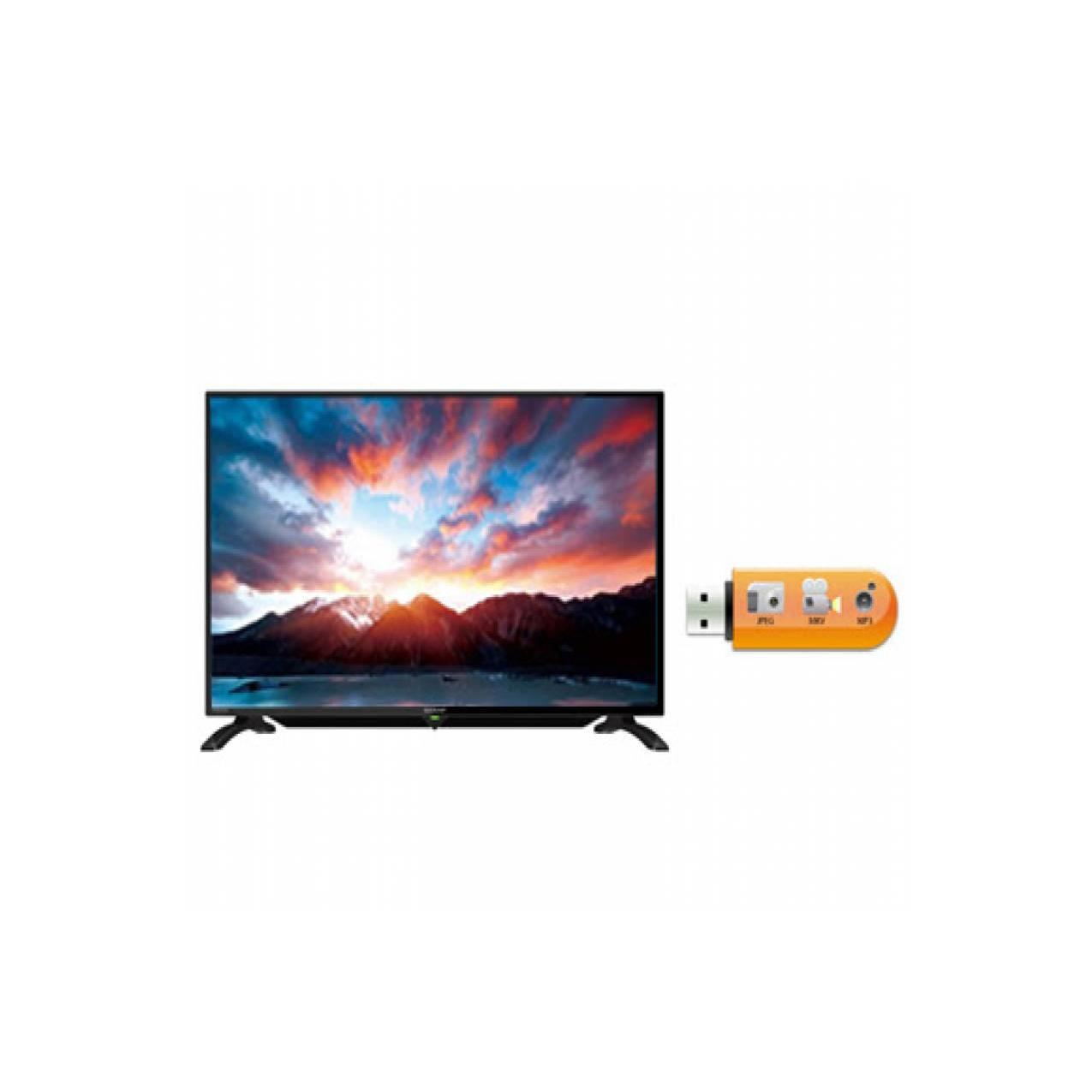 TV LED SHARP AQUOS 32 inch LC-32LE185i