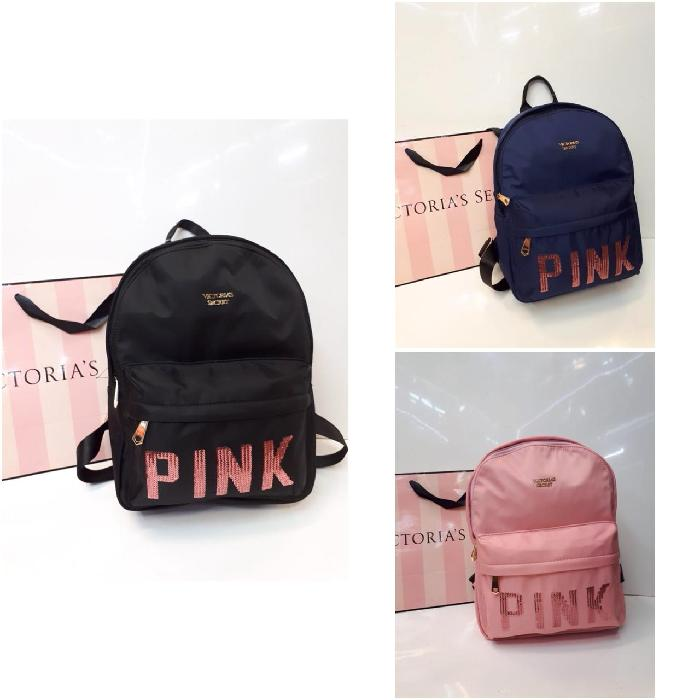 Tas Ransel Victoria Secret Backpack Ori 7512 - 4MsQKE