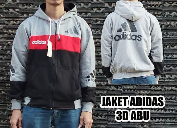 JAKET ADIDAS 3D ABU MISTY BUKAN PARKA PARASUT BOMBER