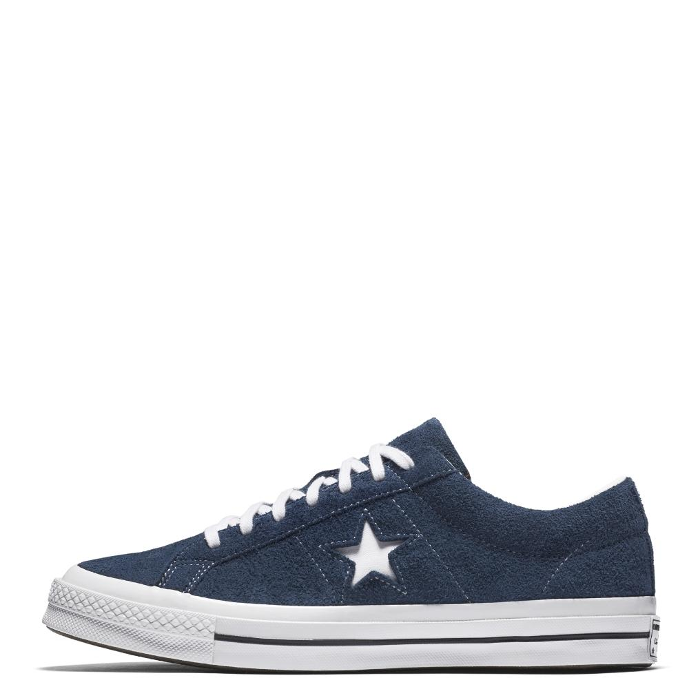CONVERSE ONE STAR - OX - NAVY/WHITE/WHITE - CON158371C - 2 ...