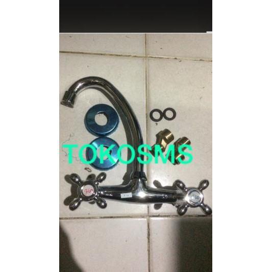 Kran Air Cuci Piring Angsa Air Panas Dingin Model Toto Dan Wasser Terlaris