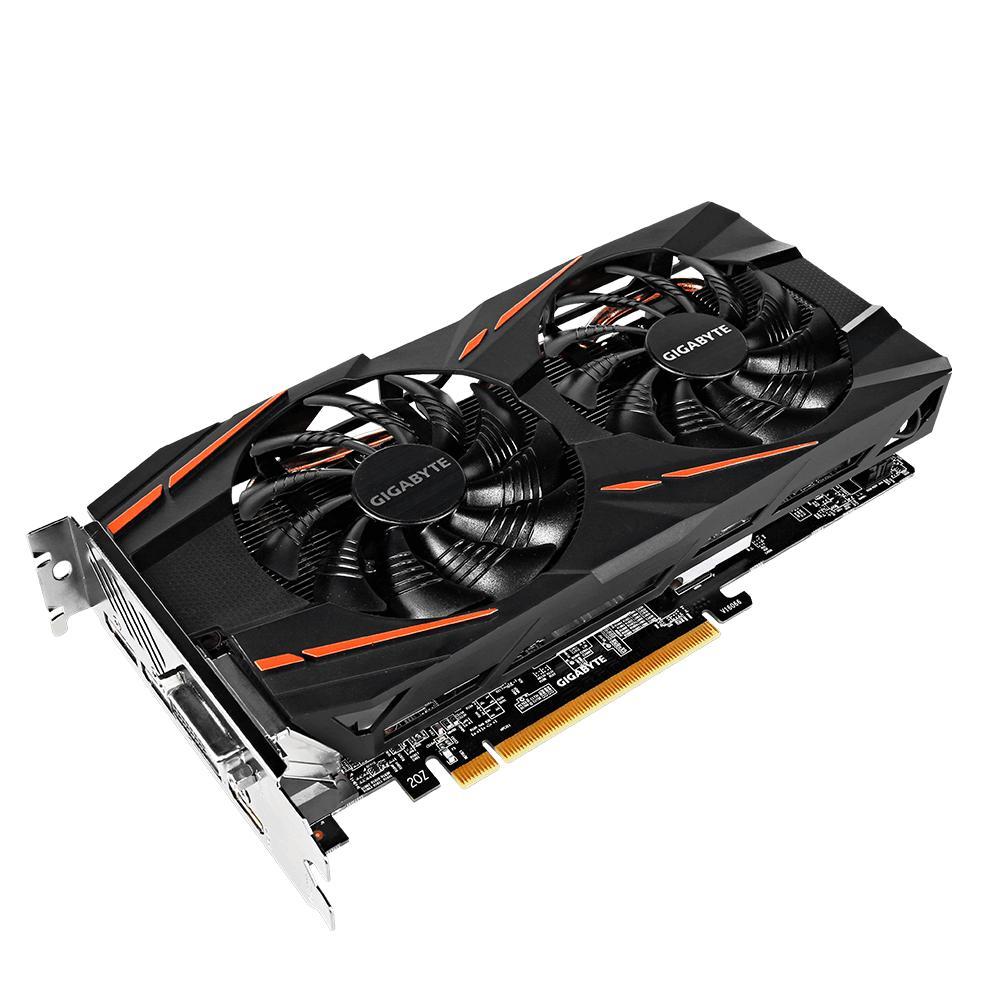 Gigabyte VGA Mining [GV-RX580GAMING-8GD-MI] - Radeon RX 580 Gaming 8G MI - Hitam
