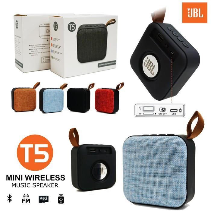 Speaker Bluetooth JBL Mini T5 Subwofer Super Bass Murah