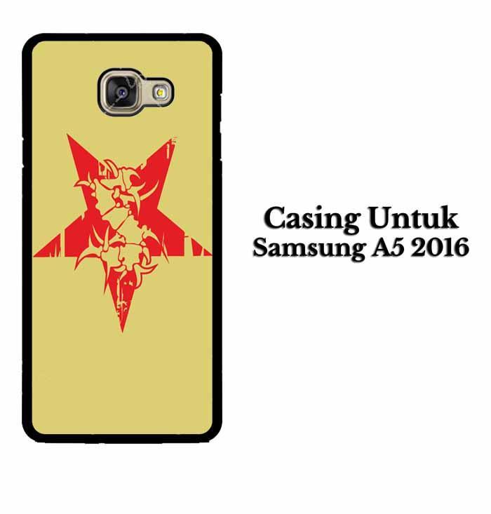 Casing SAMSUNG A5 2016 sepultura logo Hardcase Custom Case Se7enstores