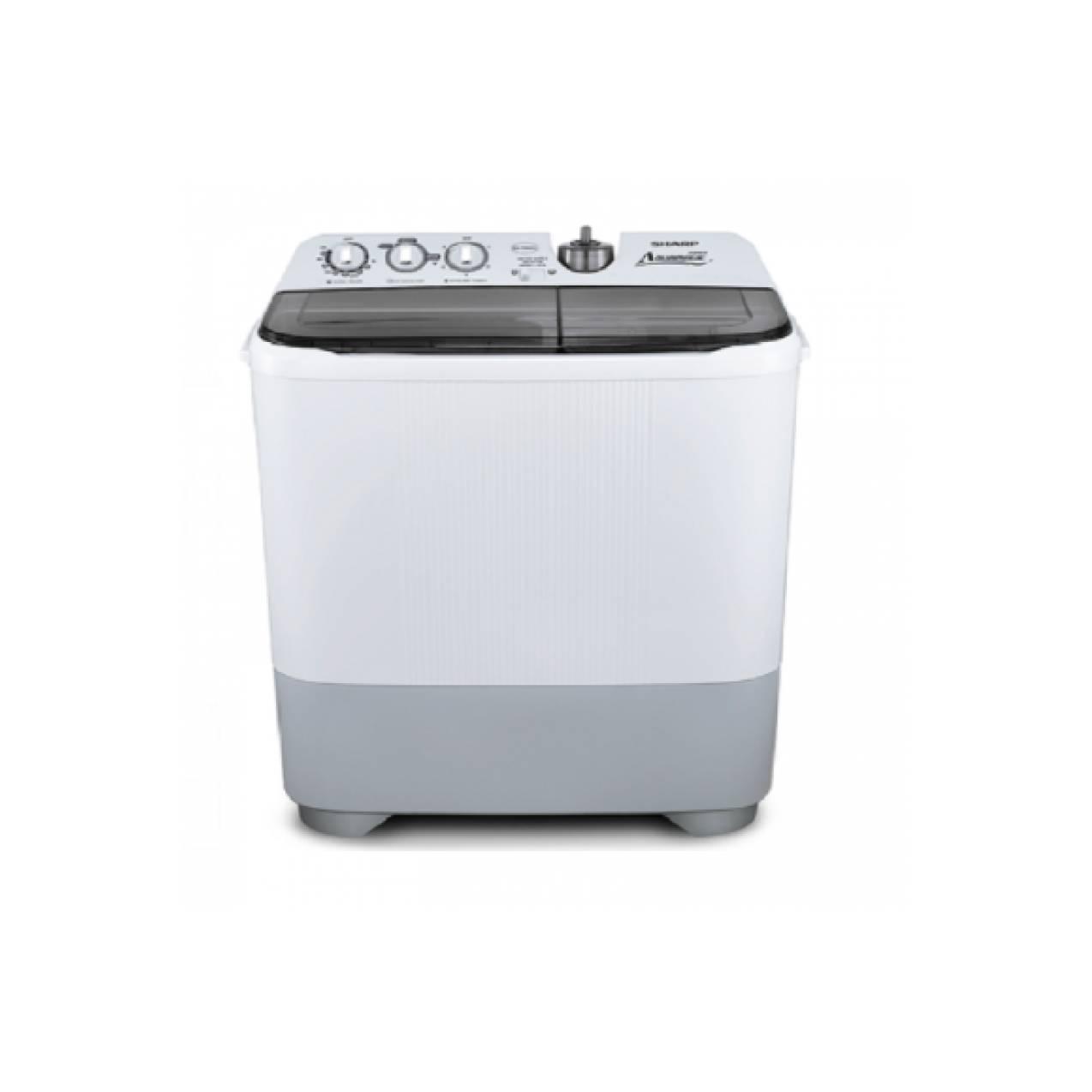 SHARP Mesin Cuci ES-T95CL, low watt, 9kg, murah